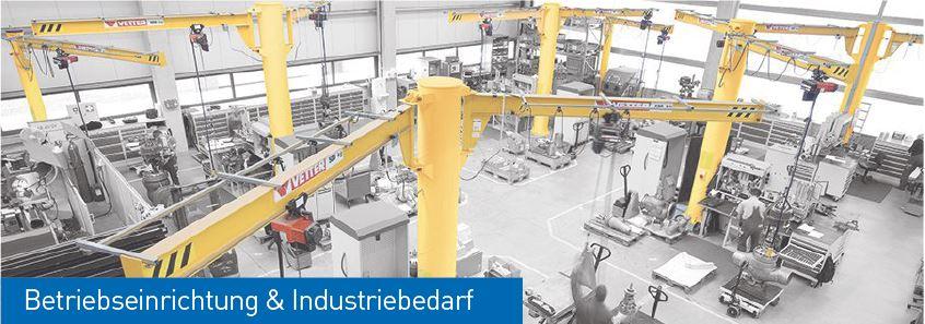 Beriebseinrichtung und Industriebedarf